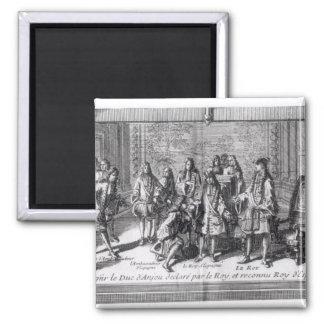 Philippe de France  Duke of Anjou 2 Inch Square Magnet