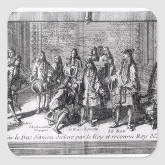 Philippe de France  Duke of Anjou Square Sticker