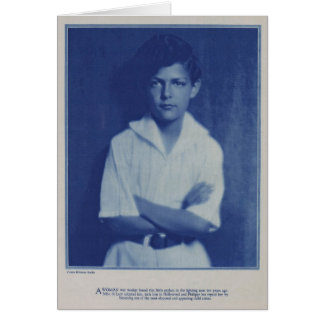 Philippe de Lacy 1931 child actor portrait Greeting Card