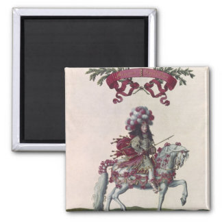 Philippe I  Duke of Orleans 2 Inch Square Magnet