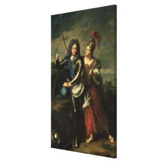 Philippe II d'Orleans  the Regent of France Canvas Print