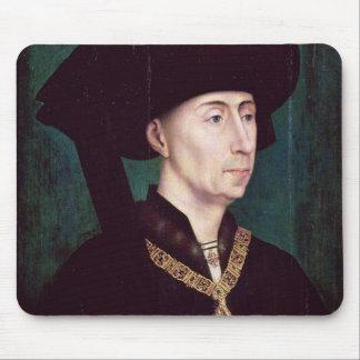 Philippe III  le Bon, Duc de Bourgogne, c.1445 Mouse Pad