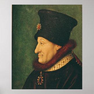 Philippe of France  Duke of Burgundy Poster
