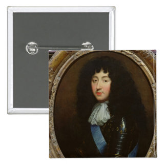 Philippe of France  Duke of Orleans 2 Inch Square Button