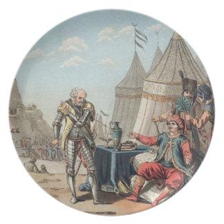 Philippe Villiers de L'Isle-Adam (1464-1534) refus Plate
