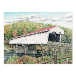 Philippi Covered Bridge Postcard
