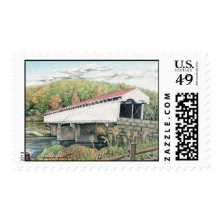 Philippi Covered Bridge, West Virginia Stamp