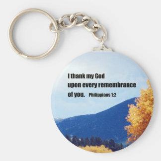 Philippians 1:2 key chains