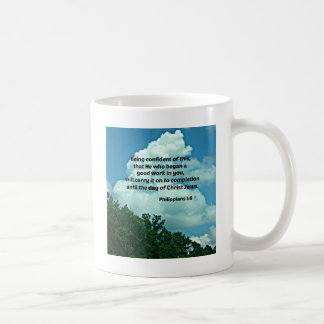 Philippians 1:6 Being confident of this, ... Coffee Mug