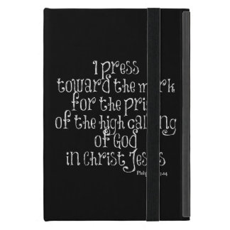 Philippians 3.14 Bible Verse Cover For iPad Mini