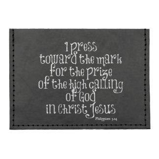 Philippians 3.14 Bible Verse Tyvek® Card Wallet