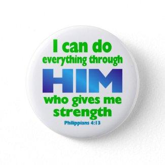 PHILIPPIANS 4 13 button