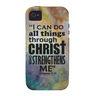 Philippians 4:13 iPhone 4 covers