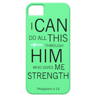 Philippians 4:13 iPhone 5 case