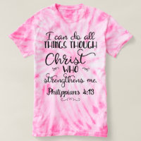 Philippians 4:13 Do All Through Christ T-Shirt