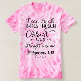 Philippians 4:13 Do All Through Christ T-Shirt