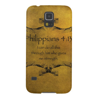 Philippians 4:13 galaxy s5 cover