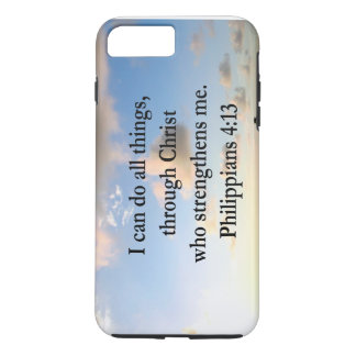PHILIPPIANS 4:13 HOPE iPhone 8 PLUS/7 PLUS CASE