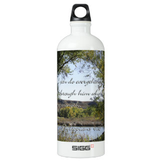 Philippians 4:13 I can do everything through Him.. SIGG Traveler 1.0L Water Bottle