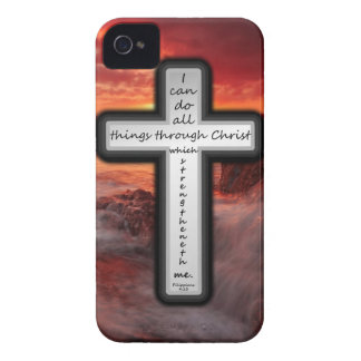 Philippians 4:13 iPhone 4 covers