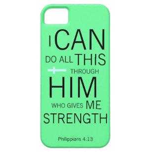 Philippians 4:13 iPhone SE/5/5s case