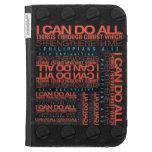 Philippians 4:13 Kindle Case