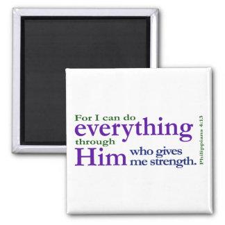 Philippians 4 13 magnets