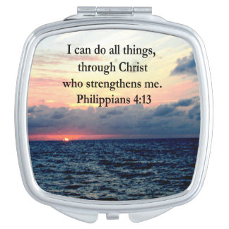 PHILIPPIANS 4:13 MIRROR FOR MAKEUP