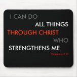 Philippians 4:13 Mouse mat Mouse Pad