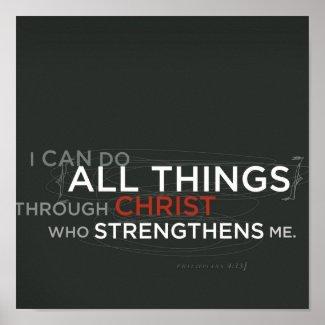 Philippians 4:13 print