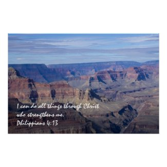 Philippians 4:13 Poster 2 print