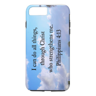 PHILIPPIANS 4:13 PRAYER iPhone 8 PLUS/7 PLUS CASE