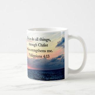 PHILIPPIANS 4:13 SUNRISE DESIGN COFFEE MUG