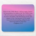 Philippians 4:4-9 Mousepad