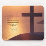 PHILIPPIANS 4:6 MOUSE PAD