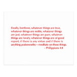 Philippians-4-8-opt-burg.png Tarjeta Postal