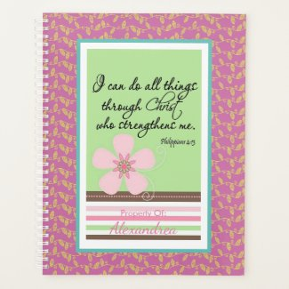 Philippians Pretty Pink Faith Planner