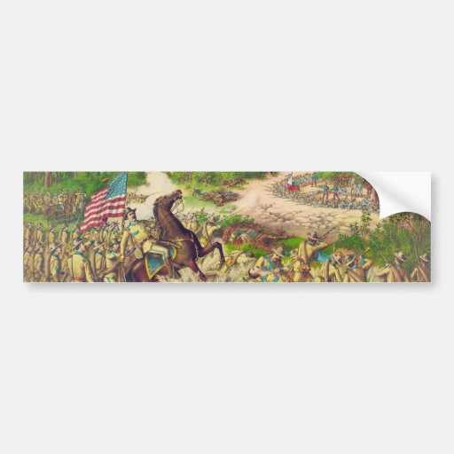 Philippine American War Battle of Quingua 1899 Bumper Sticker