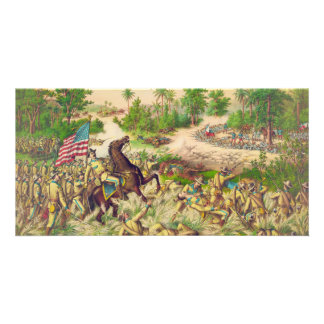 Philippine American War Battle of Quingua 1899 Card