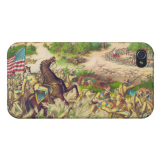 Philippine American War Battle of Quingua 1899 Cover For iPhone 4