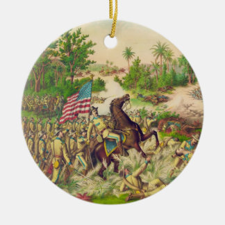 Philippine american war battle of quingua 1899 christmas for Engagement christmas tree ornaments