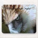 """, Philippine Eagle """"Agila"""" Mouse Pad"""
