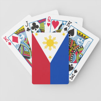 Philippine flag bicycle playing cards