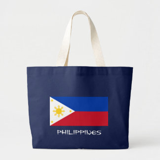 Philippine Flag Canvas Tote Bag