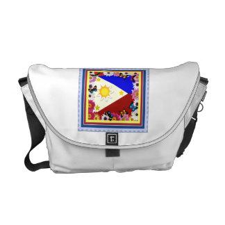 Philippine Flag Design – Filipino Messenger Bag