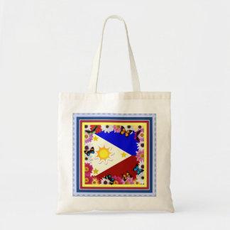 Philippine Flag Design - Filipino Souvenir Bag