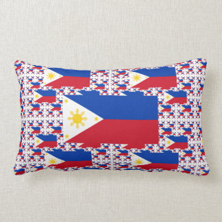 Philippine Flag in Multiple Layers Pillow