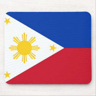 Philippine flag mouse pad