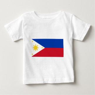 Philippine Flag, Philippine Islands National Flag Baby T-Shirt