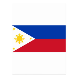 Philippine Flag, Philippine Islands National Flag Postcard